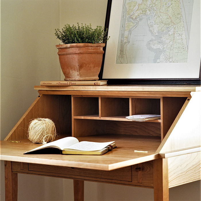 Shaker Drop Front Desk Home