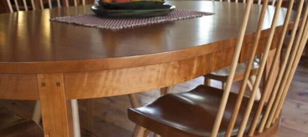 dining table oval extension table lifestyle1 Oval Extension Dining Table