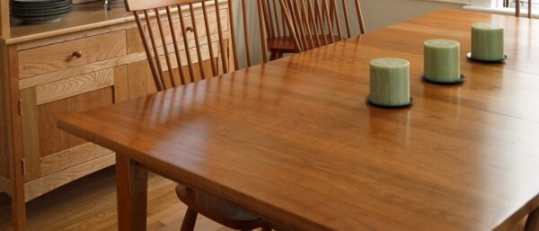 dining table rectangular extension table lifestyle1 Extension Dining Table