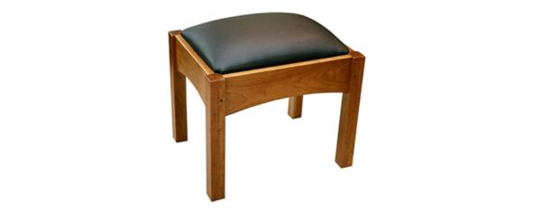 living room lounge seating bow ottoman Morris Chair