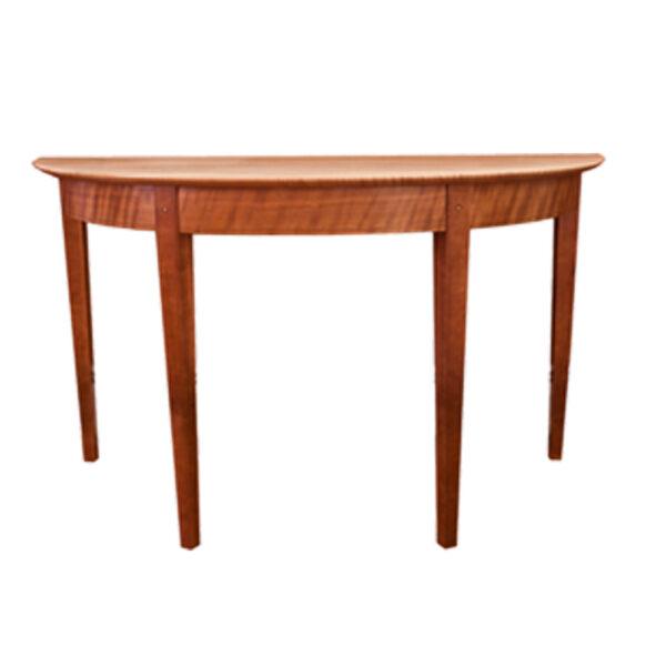 demilune hall table
