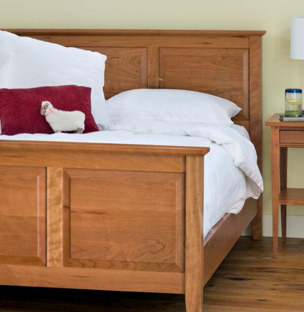bedroom furniture raised panel bed Raised Panel Bed