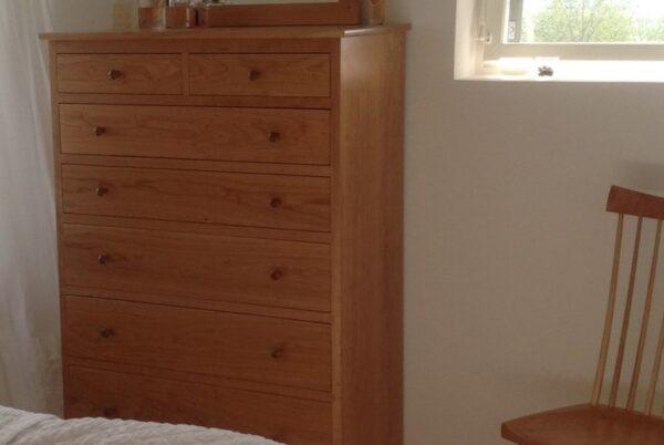 chests dressers bedroom furniture shaker vertical chest seven drawer dresser Shaker Vertical Chest