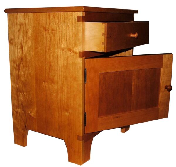 chests dressers side chest door open Shaker Side Chest