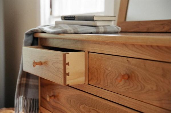 chests seven drawer chest vertical dresser bedroom Shaker Vertical Chest
