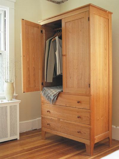 chests wardrobe drawer chest vertical dresser bedroom Shaker Wardrobe