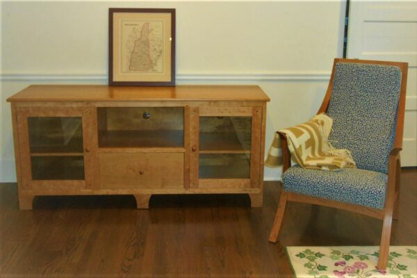 console credenza tv entertaiment center living room horizontal chest front Media Console