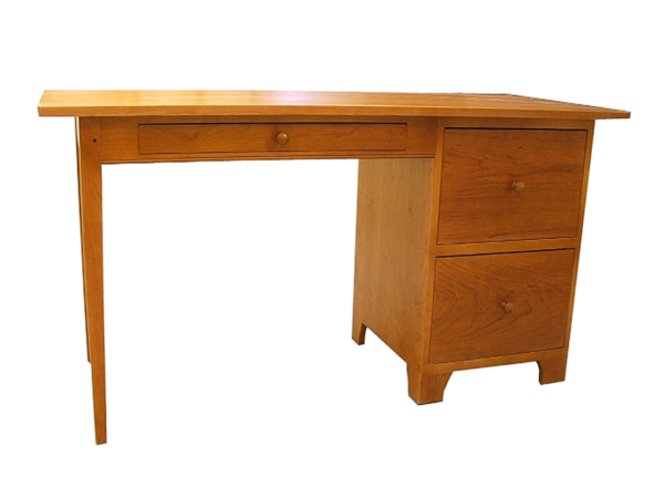 desk bookcase home office desks writing desk file cabinets drawers front Shaker Writing Table with File Cabinet