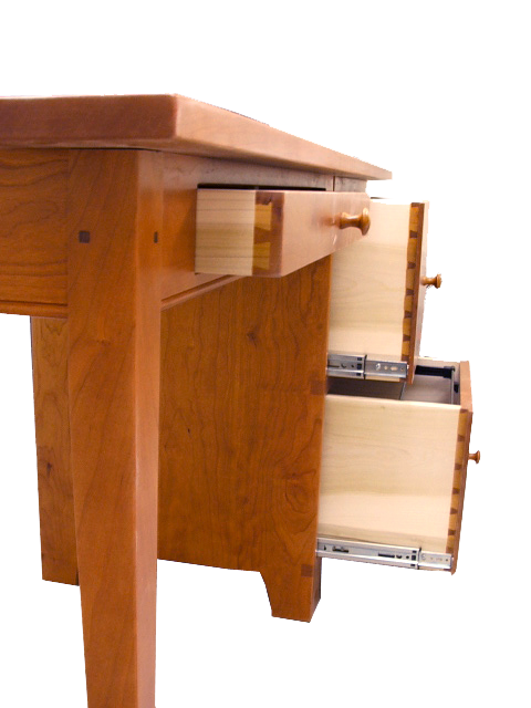 desks bookcases home office desks writing desk file cabinet drawers Shaker Writing Table with File Cabinet