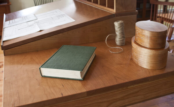 desks bookcases home office shaker standing desk flat surface Shaker Standing Desk