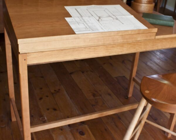 desks bookcases home office shaker standing desk front Shaker Standing Desk