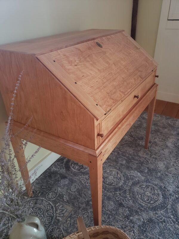 desks bookcases shaker drop front desk home office closed 1 rotated Shaker Drop-Front Desk