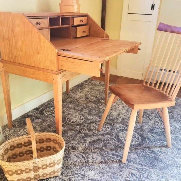 desks bookcases shaker drop front desk home office eastview chair Shaker Drop-Front Desk