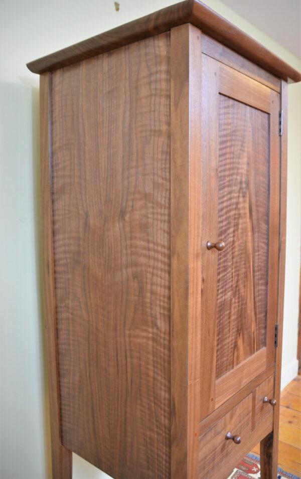 hutches servers chimney cupboard walnut side Shaker Chimney Cupboard