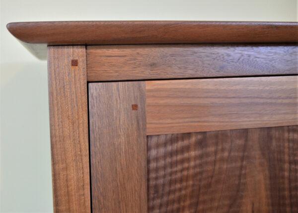 hutches servers chimney cupboard walnut top Shaker Chimney Cupboard