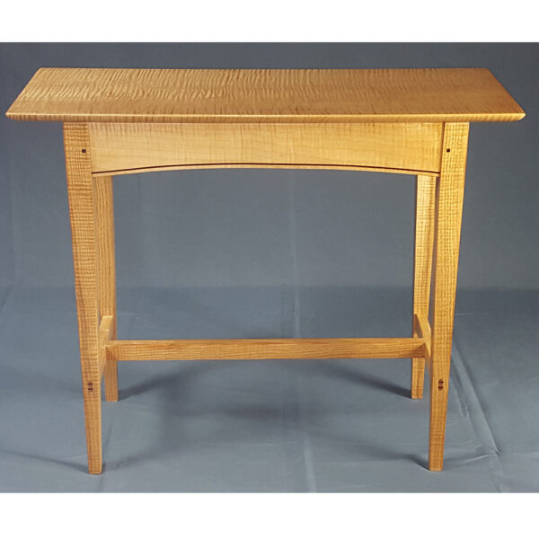shaker style 0105 accent tables stretcher table hall sofa occasinal tables front Trestle Accent Table