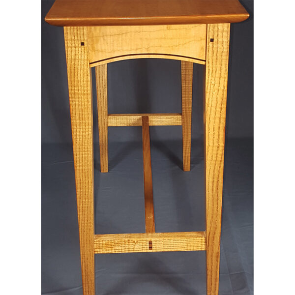 shaker style 0106 accent tables stretcher table hall sofa occasinal tables end Trestle Accent Table
