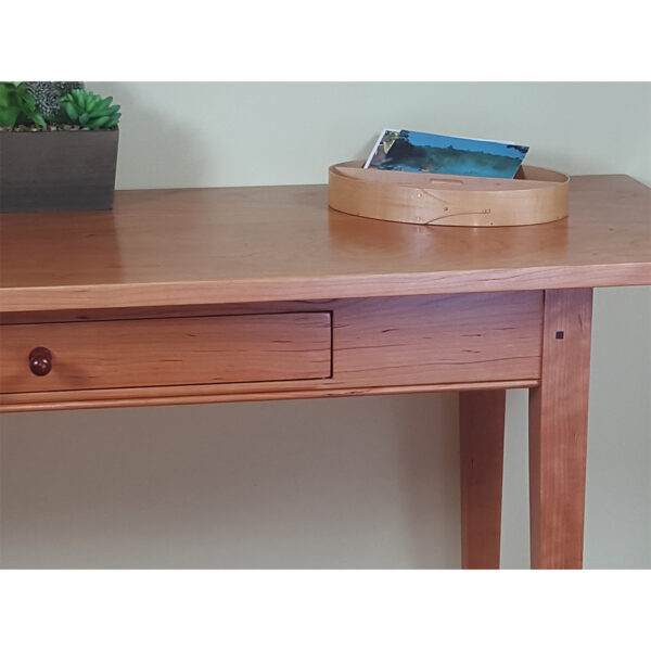 shaker style 0113 accent tables shaker hall sofa table drawer Shaker Sofa Table