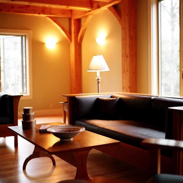 shaker style 0123 accent tables harvard trestle coffee table livingroom furniture Trestle Coffee Table