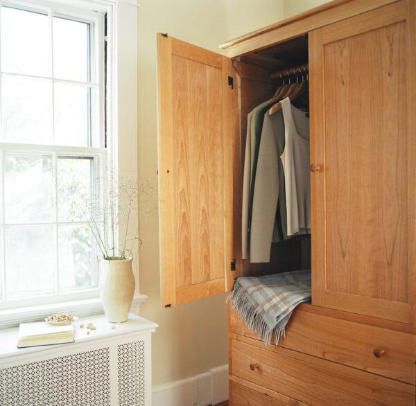 wardrobe drawer chest vertical dresser bedroom Shaker Wardrobe