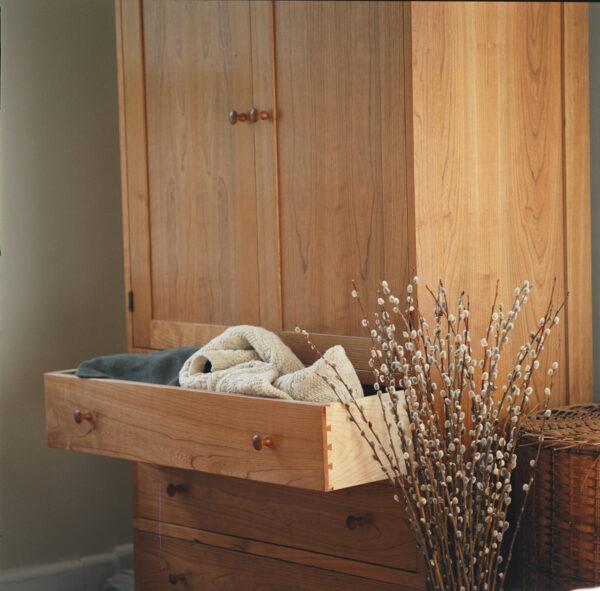 wardrobe drawer chest vertical dresser bedroom furniture Shaker Wardrobe